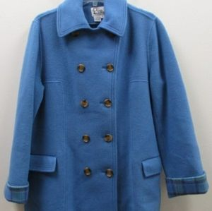 Lilly Pulitzer XL Wool Peacoat